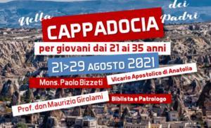 Invito di + Paolo Bizzeti, sj. Estate 2021 in Cappadocia. Per conoscere i Padri Cappadoci e il corso di Iconografia